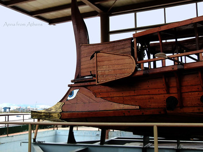 """Triiris""  Reconstructed ancient Greek warship"