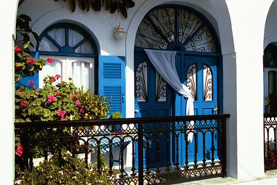Blue Balcony Santorini, Greece
