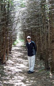 Ben in the woods