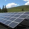 Renewable Resources China's solar panel array