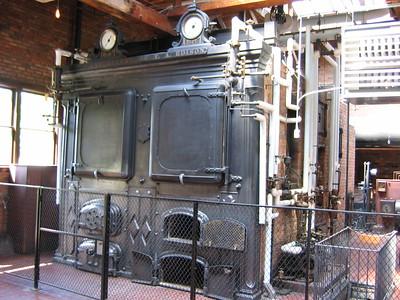 Greenfield Village Edison Boilers
