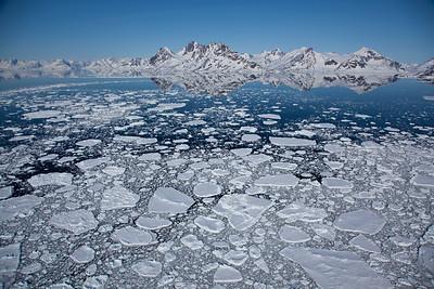 Greenland sea, East Greenland