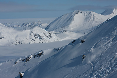 Skiing in East Greenland MR