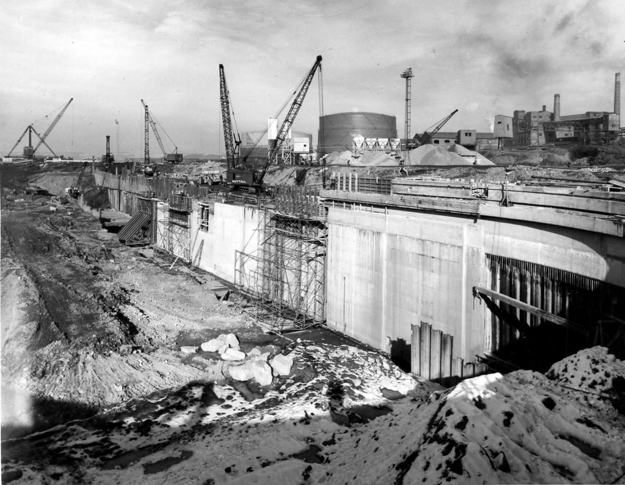 D073Dock walland subway - east side  27/2/1963