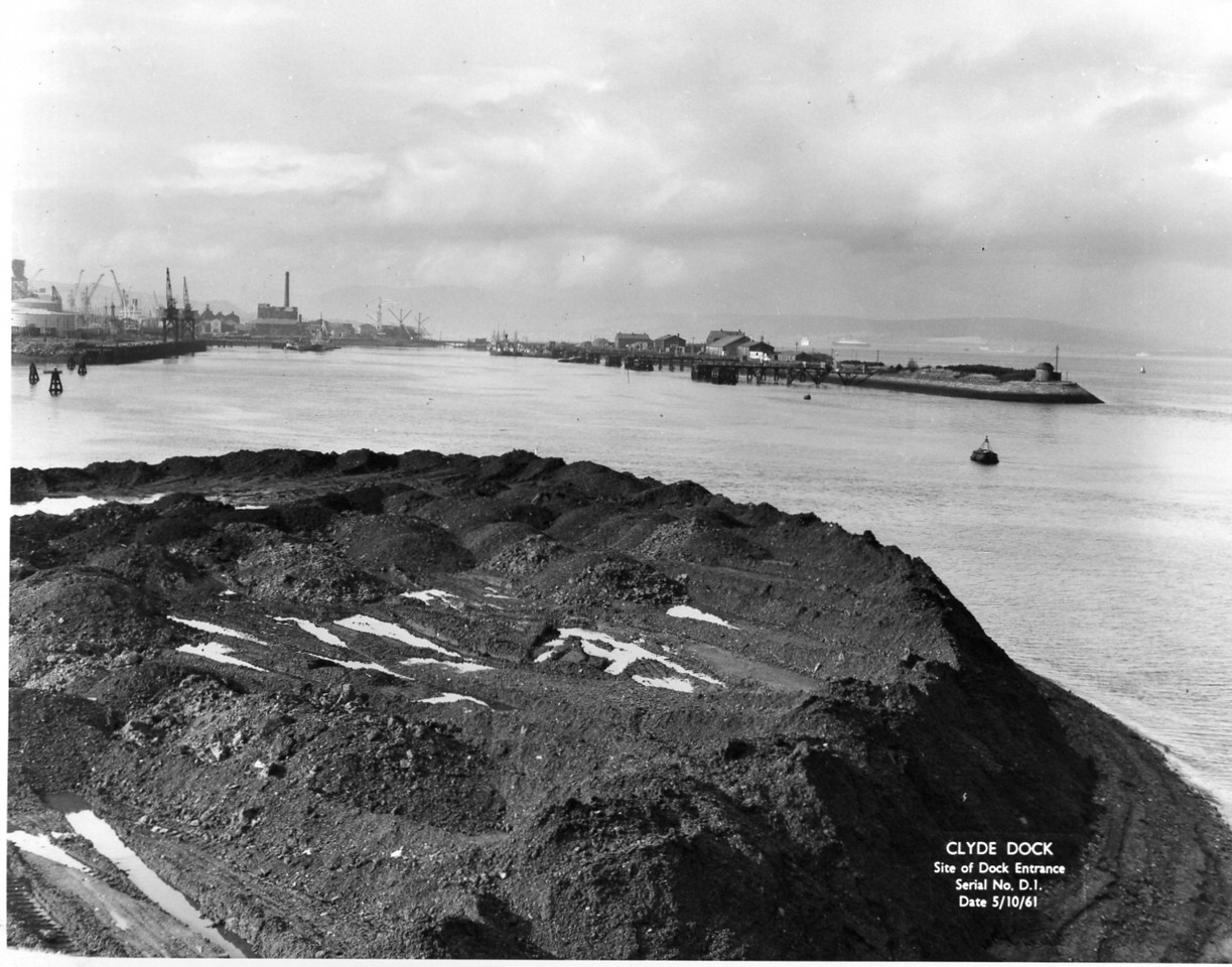 D001 Site of Dock before construction 5/10/1961