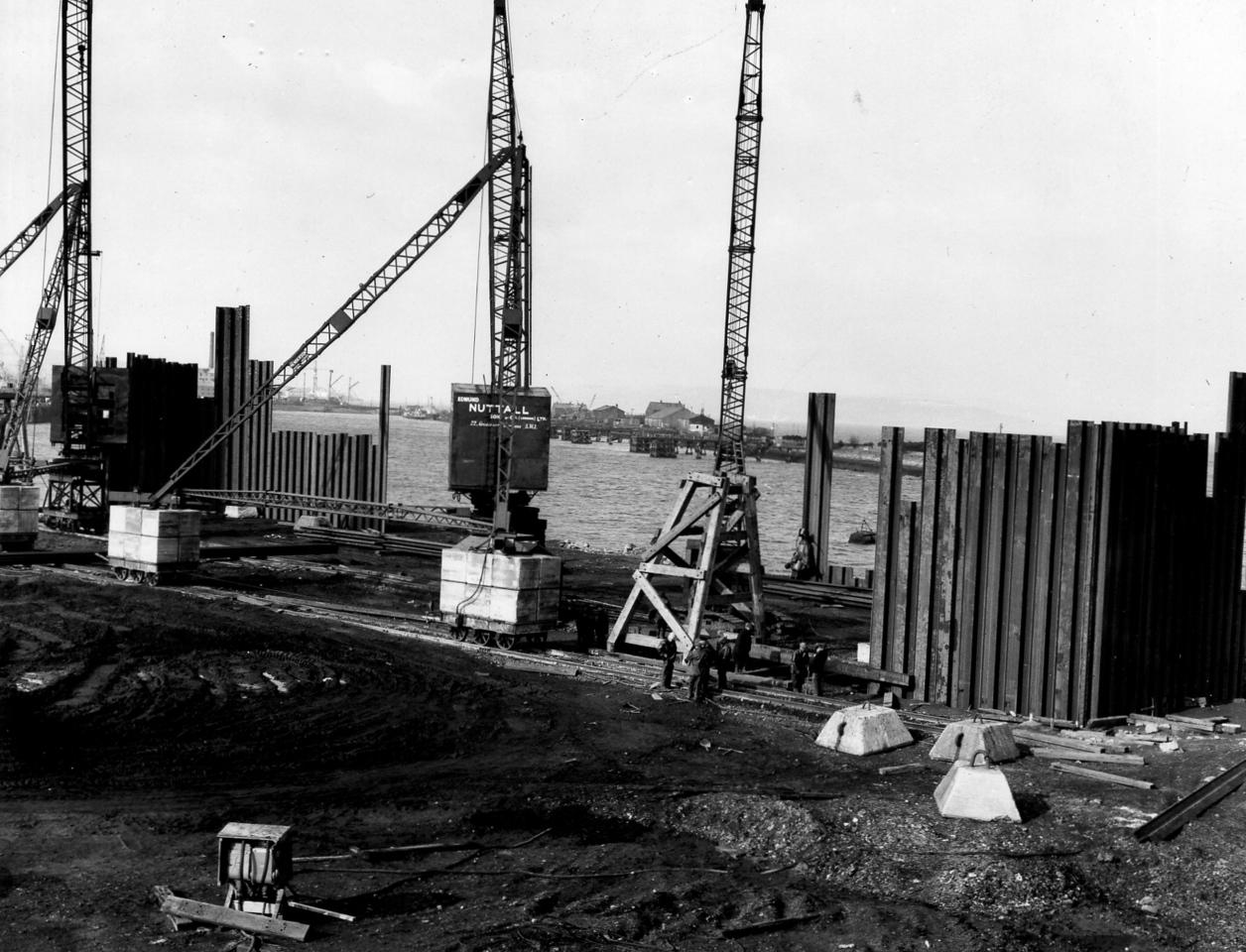 D009Entrance works 26/2/1962