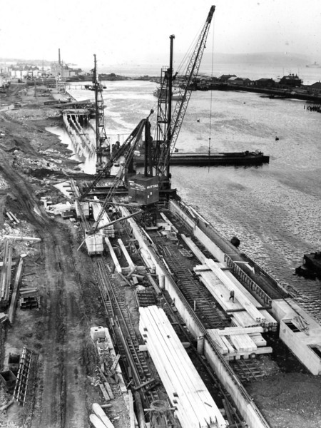Q025View of Repair Quay looking west  26/6/1963