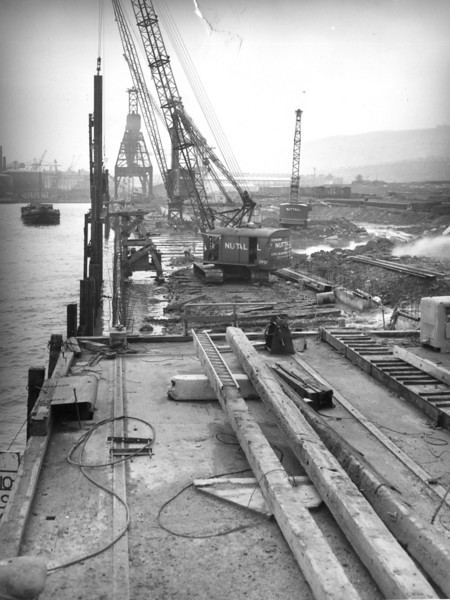 Q032General view of Repair Quay from MSR Wharf