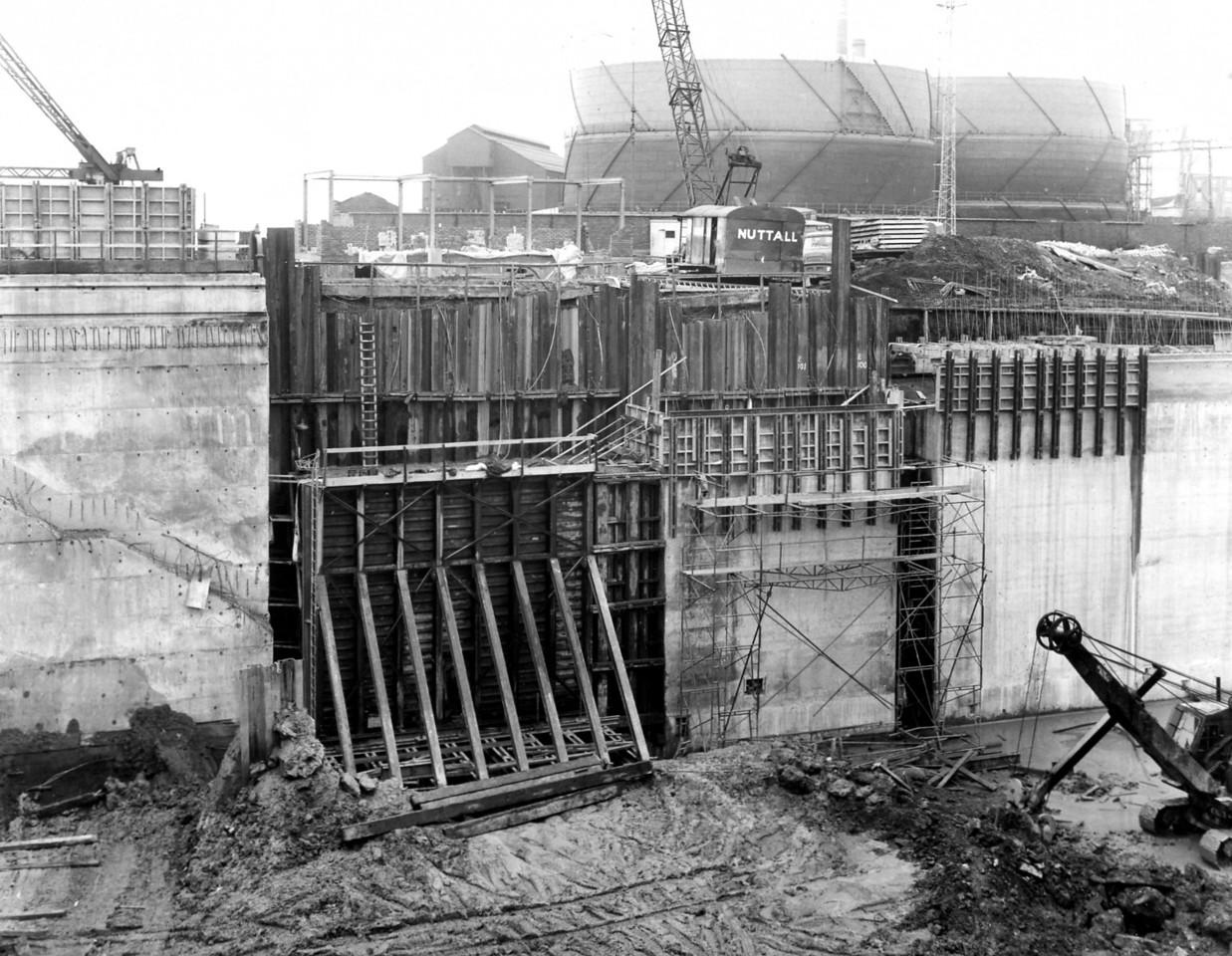 D118East Wall - final 25' lift being prepared