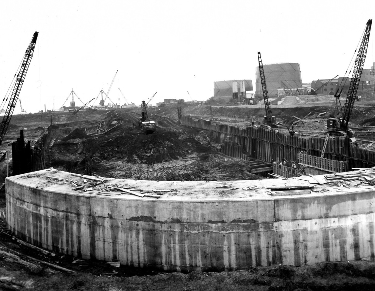 D043General view of dock site from head of dock 25/9/1962