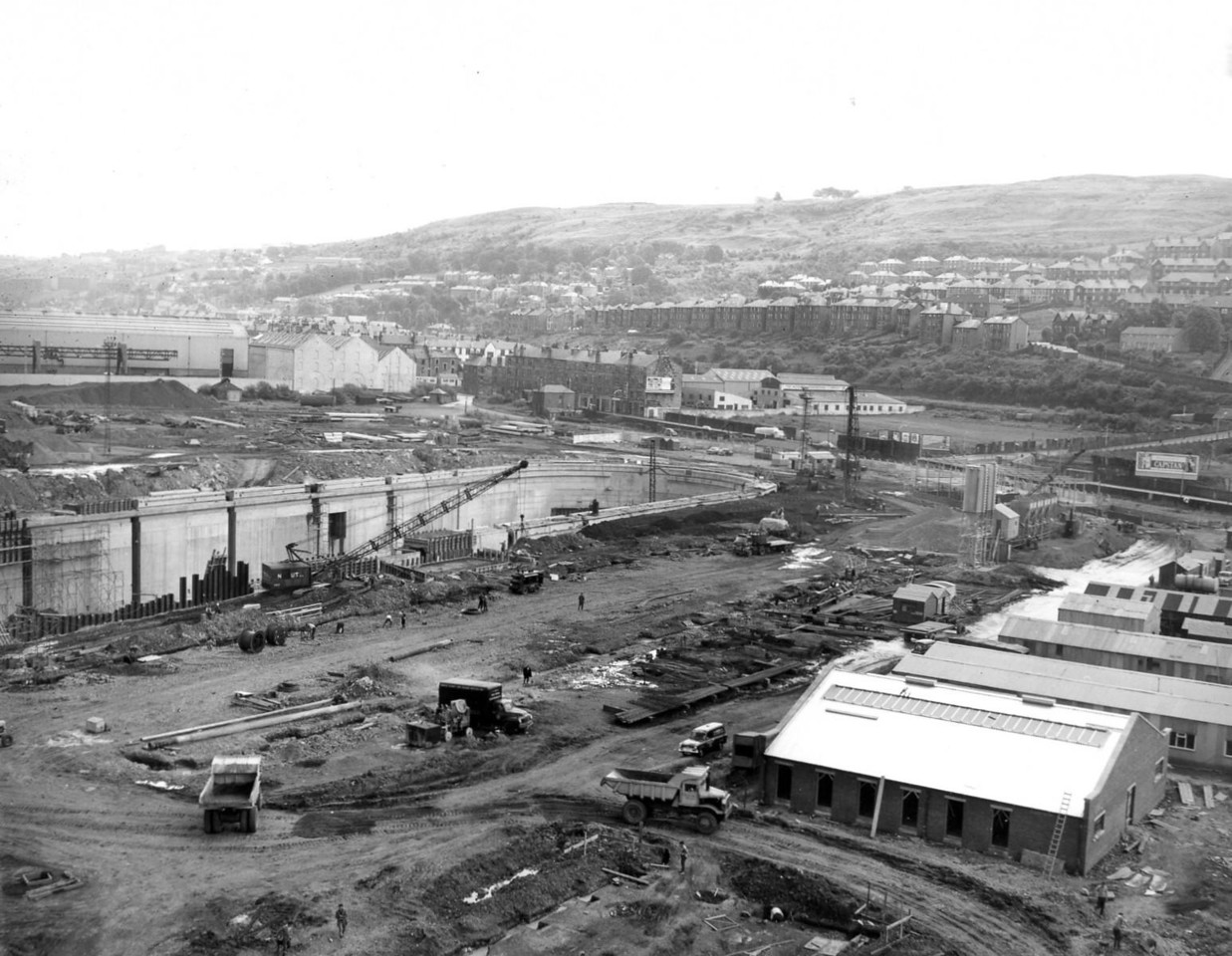 D093General view of soite looking south east  26/6/1963