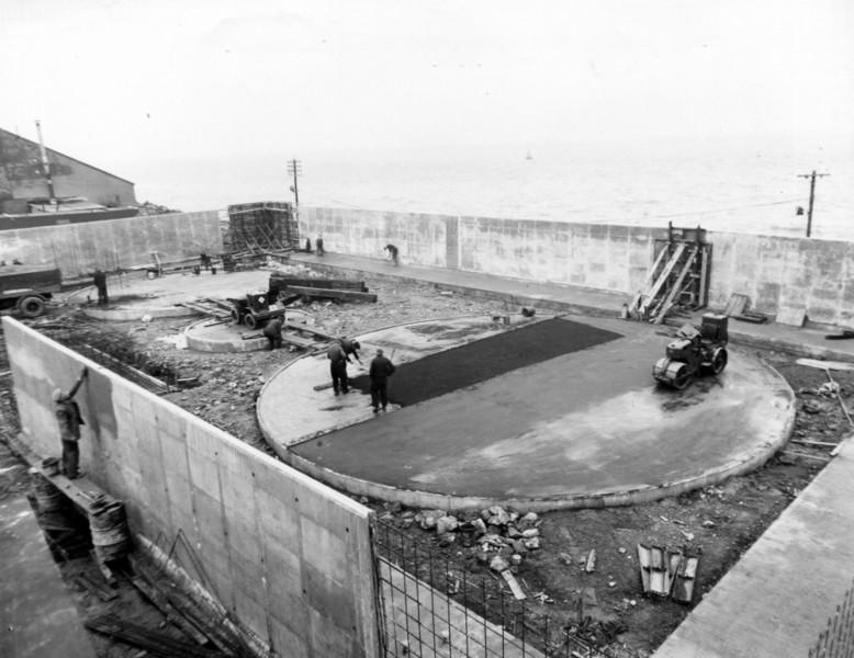 T015	Laying bitumen and sand surface to tank foundations  8/3/1963