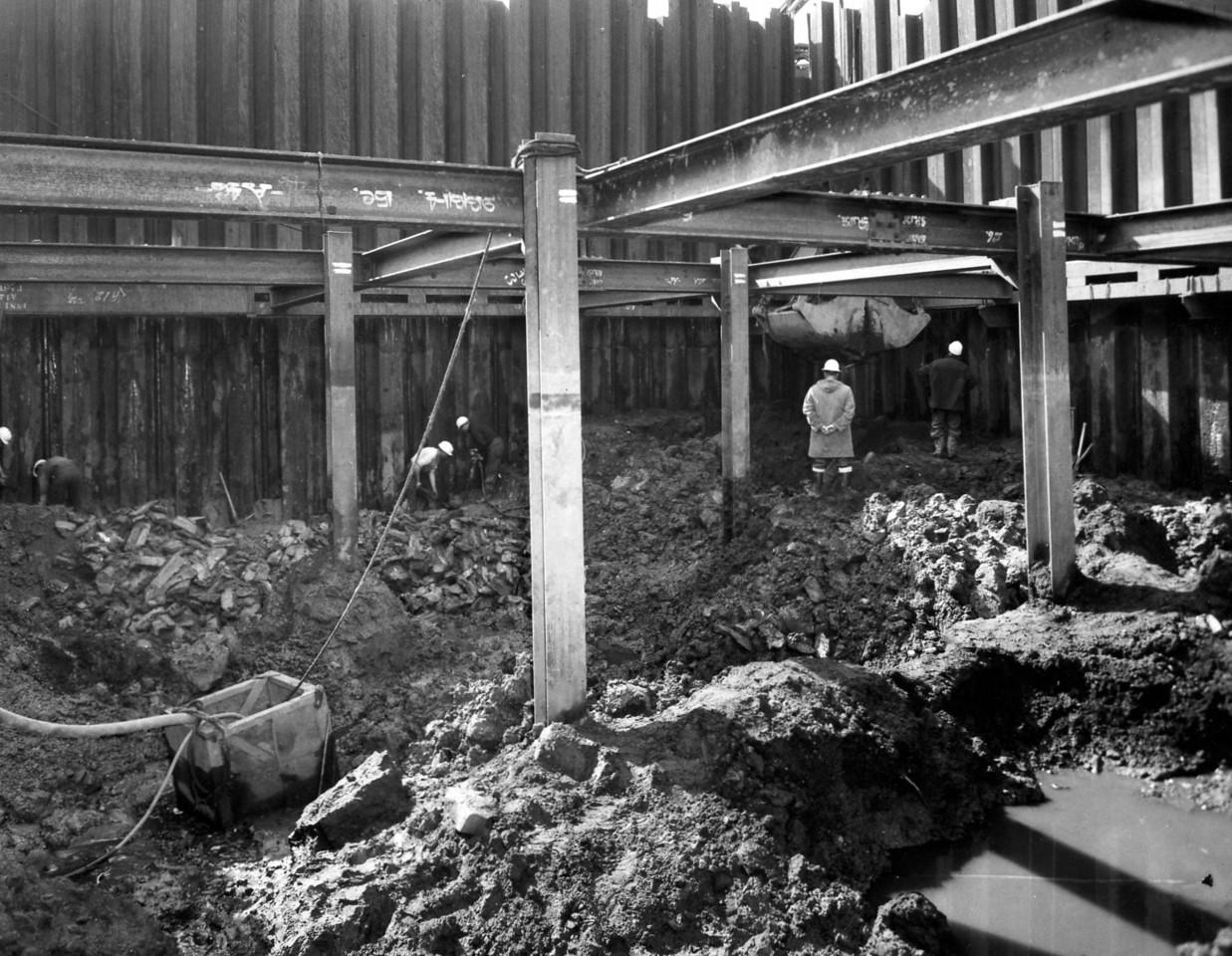 D018Excavation inside pumphouse