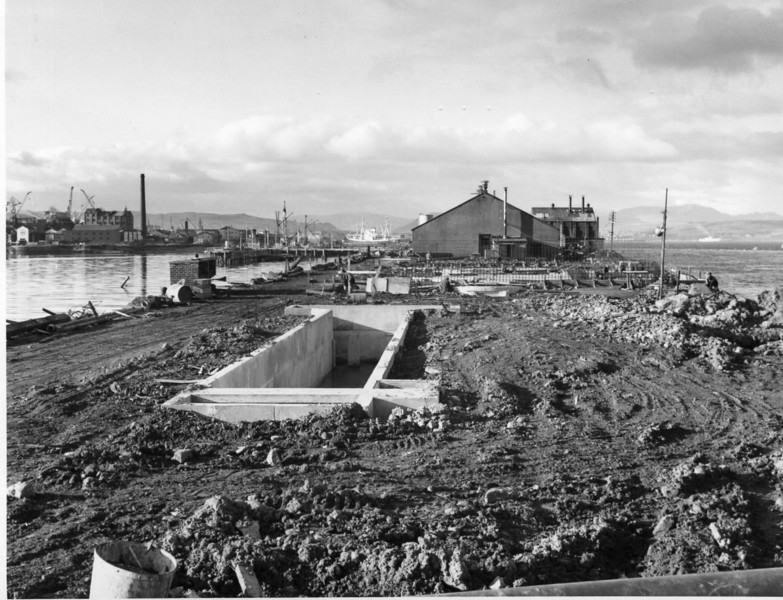 T012	Tank farm foundations  31/12/1962