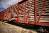 Boxcars at the Eaves Movie Ranch<br /> Santa Fe, New Mexico 2007