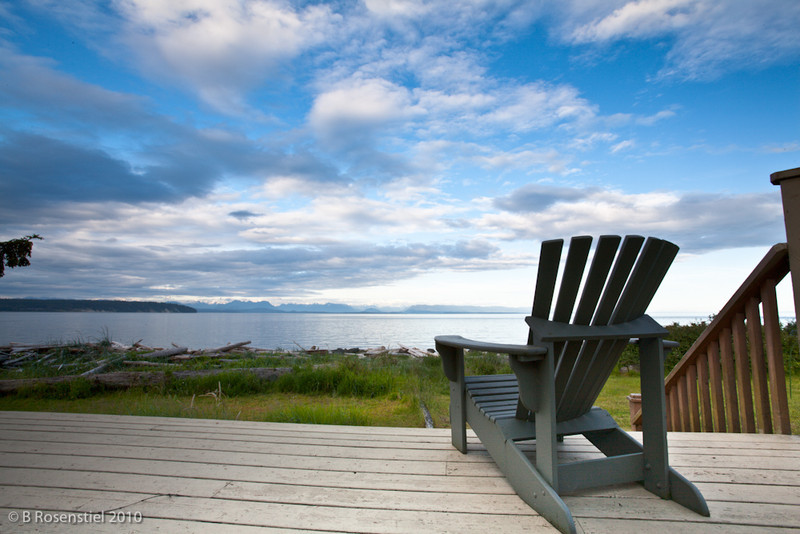 Now that is a backyard!<br /> Campbell River, Vancouver Island, 2010