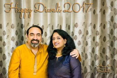 Wishing a Very Happy Diwali (Deepavali) from Anu and Suchit Nanda, 2017.