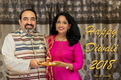 Wishing a Very Happy Diwali (Deepavali) from Anu and Suchit Nanda, 2019.