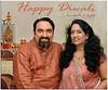 Happy Diwali greetings from Arundhathi and Suchit Nanda, 2012.