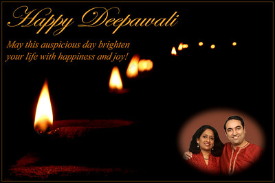 Happy Deepawali 2008 May this auspicious day brighten your life with happiness and joy!