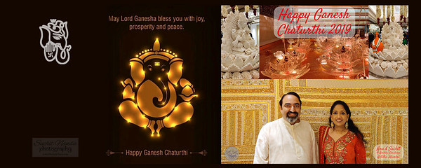 Happy Ganesh Chaturthi 2019, Antillia, Mumbai