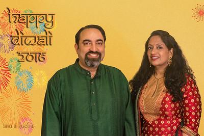 Happy Diwali (Deepavali) greetings from Anu and Suchit Nanda, 2016