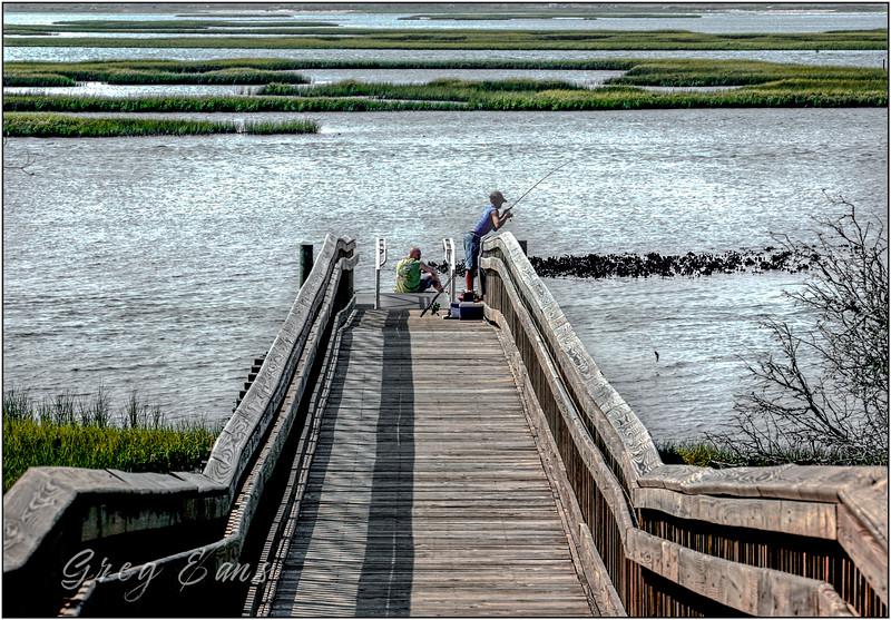 Emerald Isle, NC fishing.