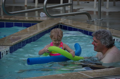 Greta swimming Aug 2016