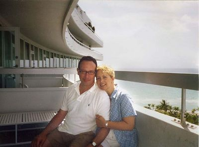 at the Fountainbleu Hotel in Miami Beach - Summer 2003