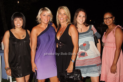 Sharon Rivera, Nicole Nugent, Jennifer Colwell, Martha Slutcky, Catherine Rivera photo by Rob Rich © 2008 516-676-3939 robwayne1@aol.com