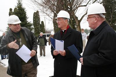 Mark Carstensen, Fr. Tom Cassidy and Dn. David Nagel