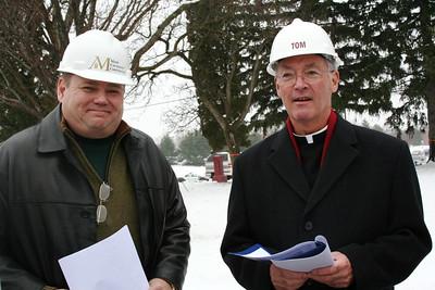 Mark Carstensen and Fr. Tom Cassidy, provincial superior