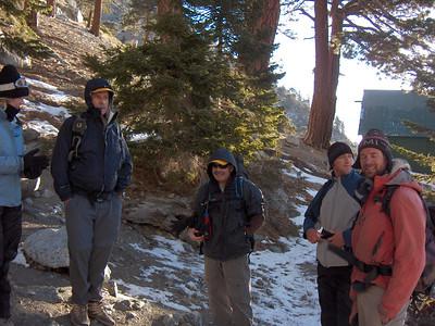 Group Hike, Ski Hut Trail, 01/19/2007