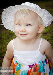 Malia in White Hat-