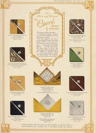 Gruen Guild Supplement A - 1931