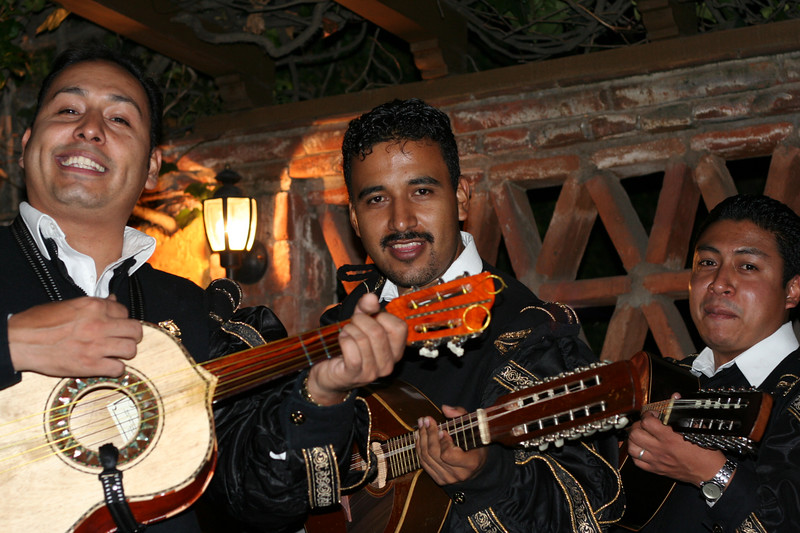 band at pedro's grandfather's house