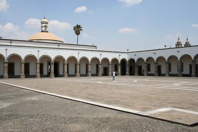 at the orozco museum.  guadalajara.