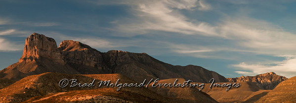 """Veiled In Shadow""-Guadalupe Mountains National Park, Texas"