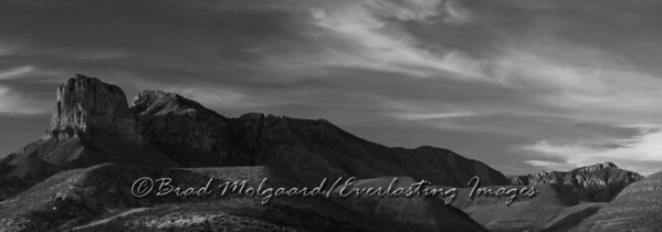 """El Capitan Ridgeline"" Guadalupe Mountains National Park, Texas"