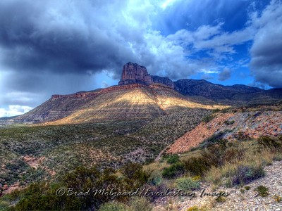 """Ray Of Sunlight""  Guadalupe Mountains National Park, Texas. This image was given the ""Peoples Choice Award"" at the Images Show 2011 in Carlsbad, New Mexico."