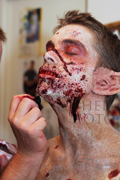 <h2>You know when the make-up process started on actor Brien McCrea I was thinking wow that's pretty creepy. I was amazed at how much creeper it got as time went on. <i>The Creature</i> was truly horrifying.