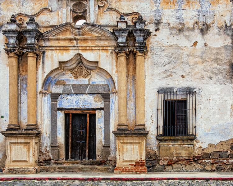 Church Door, Antigua
