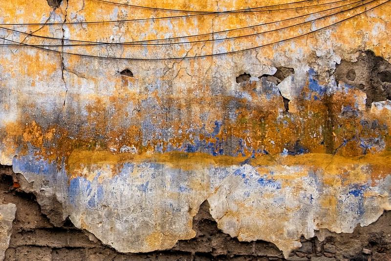Crumbling Wall, Antigua