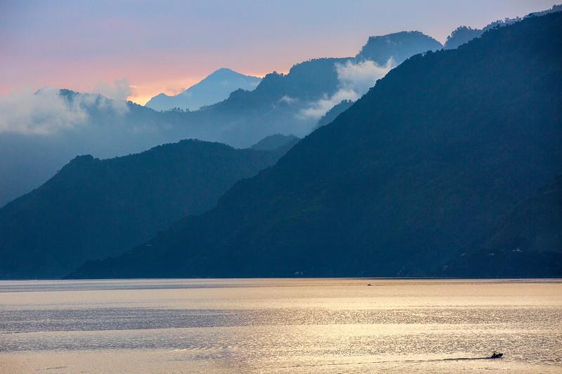 Lake Atitlán Sunset