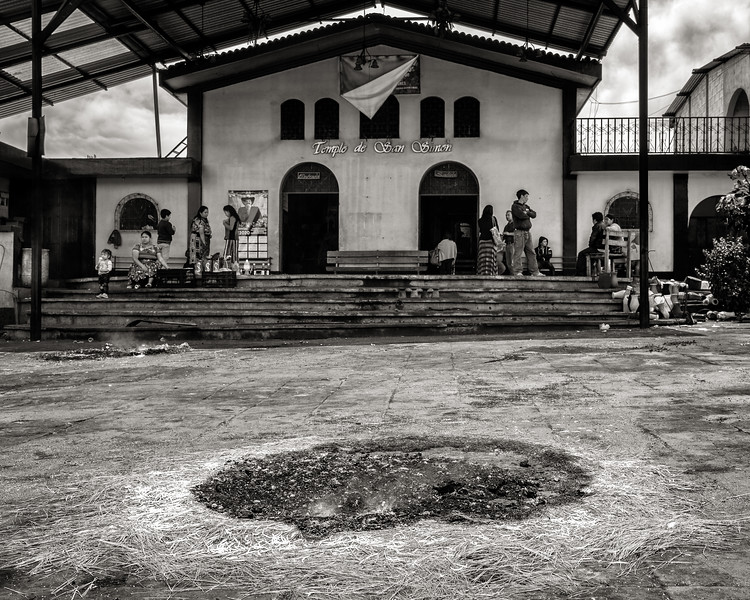 Temple of Saint Simon (Maximón), San Andrés de Itzapa, Guatemala