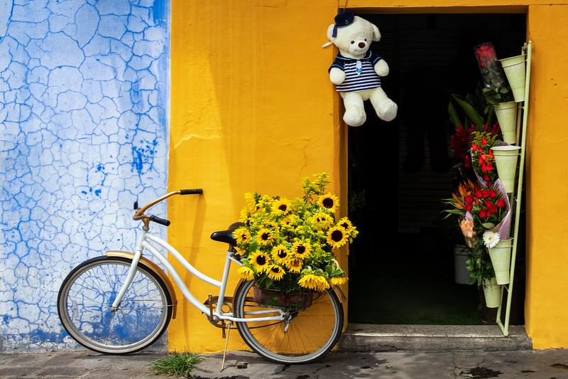 Florist, Antigua, Guatemala