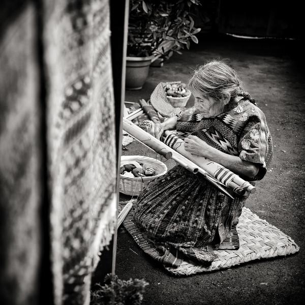 Traditional Weaving, Guatemala