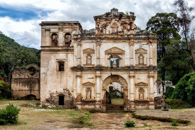Abandoned Church, Antigua, Guatemala