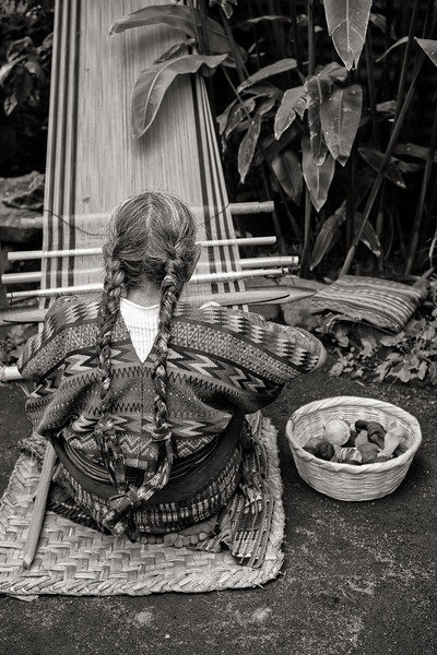 Weaver Braids, Guatemala