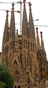 La Sagrada Familia, Barcelona, España (Gaudí)